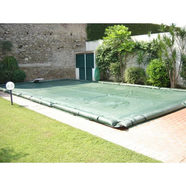Copertura akuacover standard con salsicciotti per piscina ricambi e accessori per piscine l - Salsicciotti per piscina ...