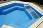 Lettino idromassaggio, zona relax spa all'interno della vasca