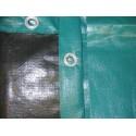 Copertura Akuacover standard con salsicciotti per piscina